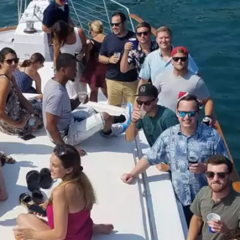 4th of July fireworks lakefront cruise boat rentals in Chicago Privately crewed with captain