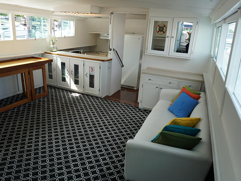 sleep aboard below deck