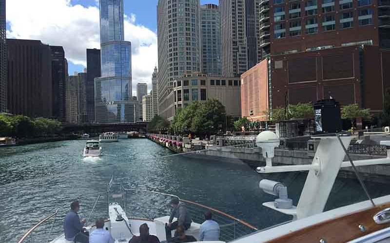 Memorable Chicago River Tours aboard Adeline's Sea Moose