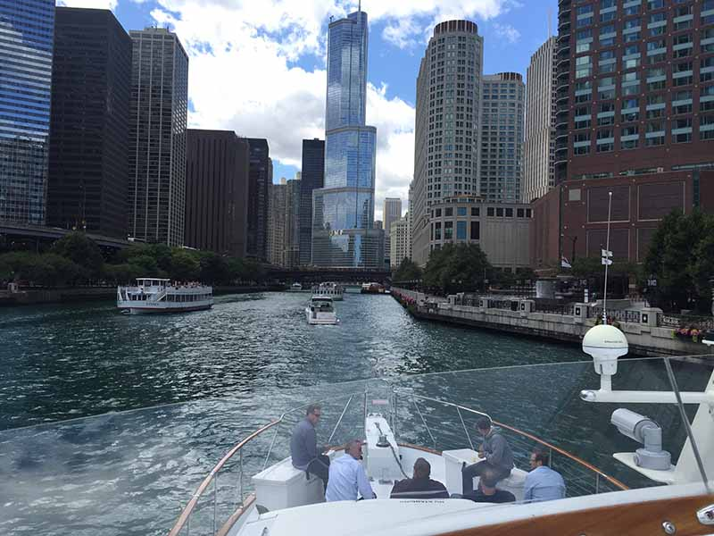 Chicago Private Yacht Rentals Best River Views Also