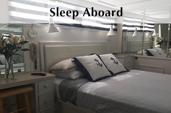 Adeline's Sea Moose Sleep Aboard