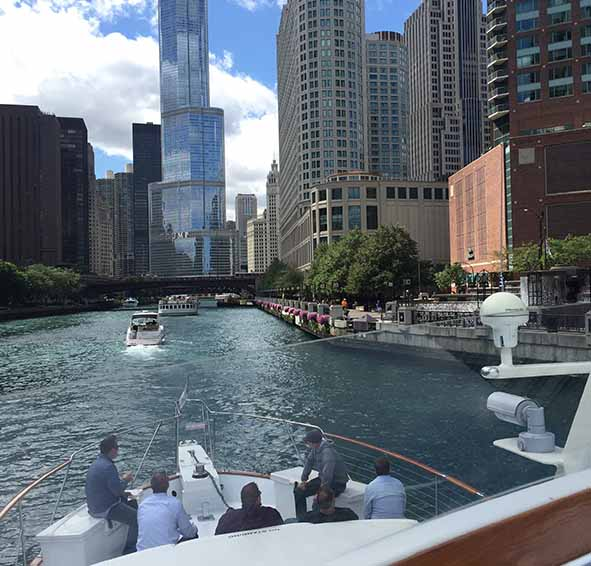 Chicago Private Yacht Rentals Corporate Charter