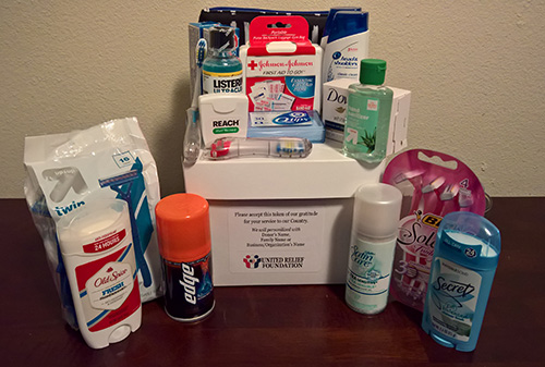 Personal Care Package Items