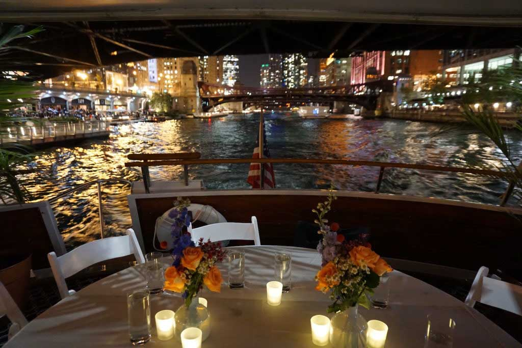 Private Dining Yacht