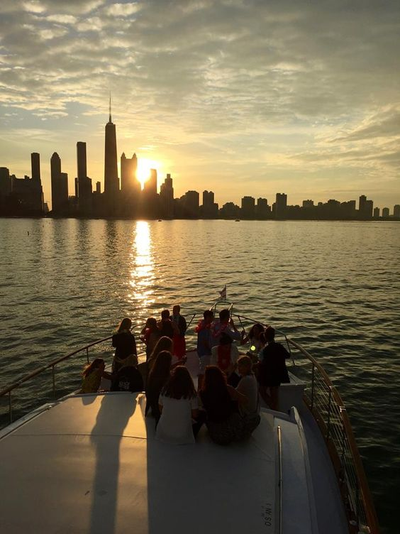 bachelorette party on private yacht