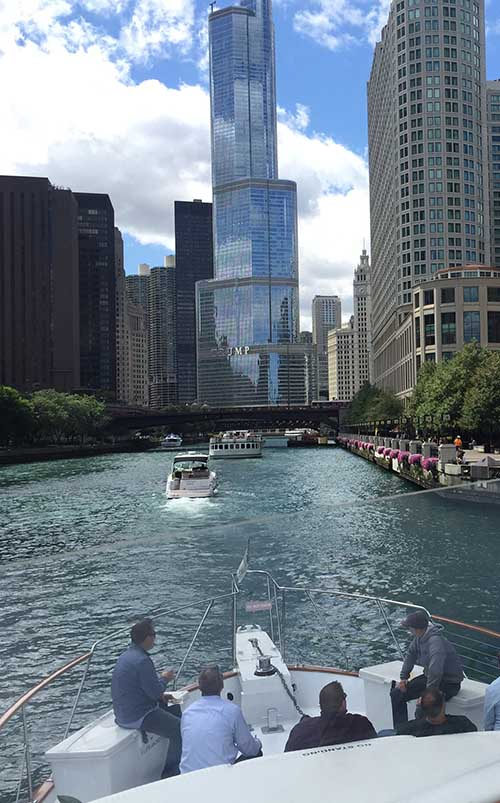 Chicago Private Yacht Rental River Tours charter
