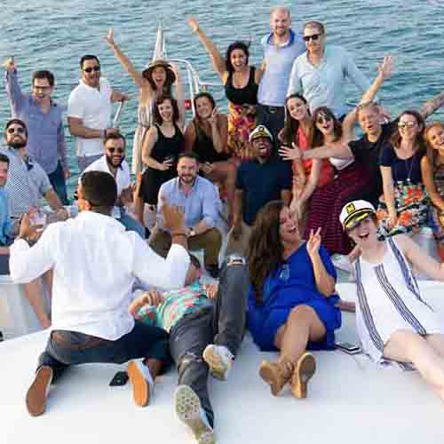 Chicago Private Yacht Rentals Celebrations It's Party Time