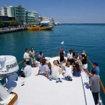 Chicago Private Yacht Rentals Corporate Event charters