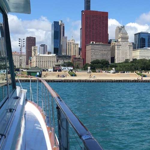 Chicago Lakefront Tours aboard Adeline's Sea Moose