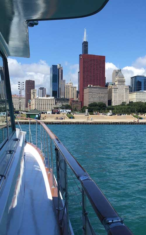 Chicago Private Yacht Rentals Lakefront cruises