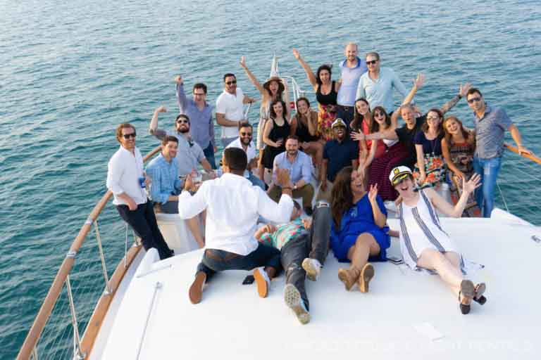 Client Appreciation and Employee Recognition Chicago Private Yacht Rental