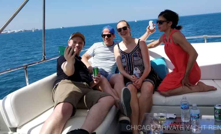 Team Building on a Chicago Private Yacht Rental