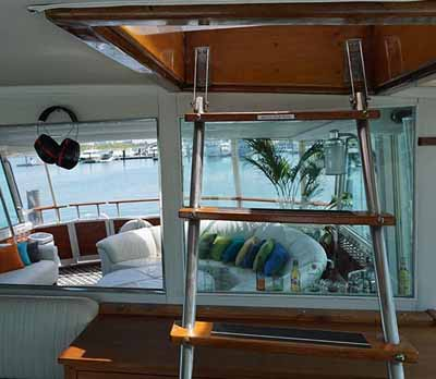 Chicago private yacht rental Adeline's Sea Moose chicago yacht