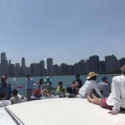 Chicago private yacht rental for charity fundraising charters