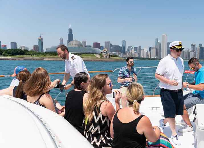 Chicago Private Yacht Rentals Lake luxury yacht charters