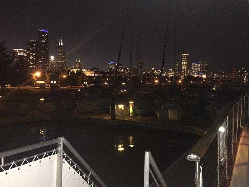 Chicago Private Yacht Rentals Onboard Overnight Stays