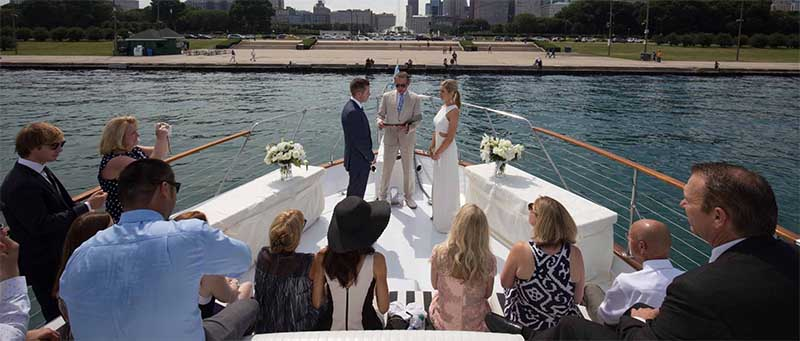 Chicago Private Yacht Rentals Wedding Charters