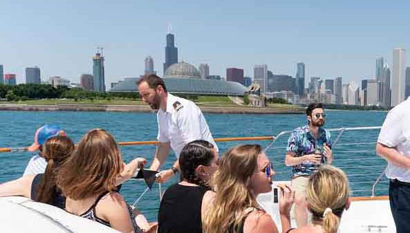 Chicago Private Yacht Rentals Burnham Harbor Chicago