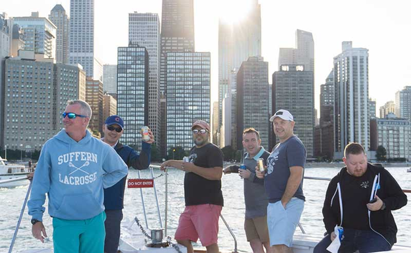 Chicago cocktail booze cruises