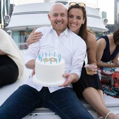 Chicago private yacht rentals celebrations and celebrity cruises