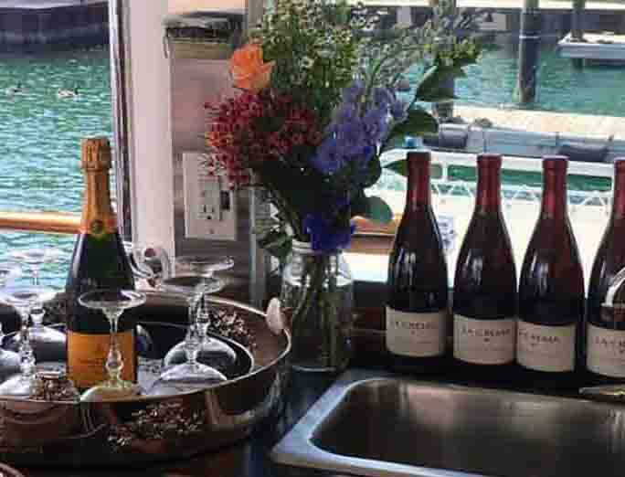 Chicago private yacht rentals for engagement parties