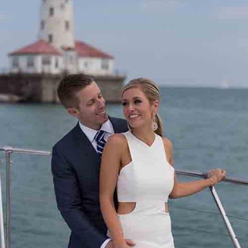 Chicago private yacht rentals for wedding ceremonies