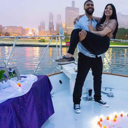Chicago private yacht rentals proposal cruises