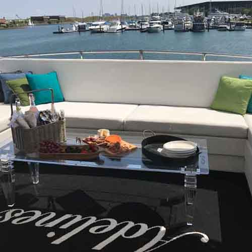 Chicago Private Yacht Rentals chairty fundraising