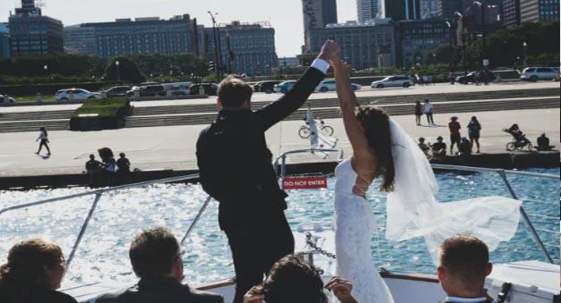 Chicago private yacht rentals for unique wedding venues