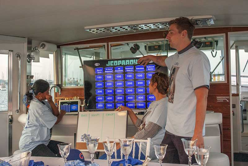 Adeline's Sea Moose private fun and games private yacht charters