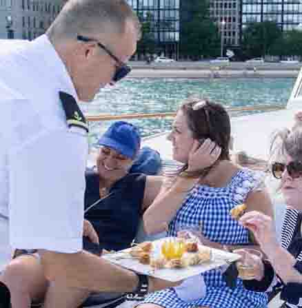 Chicago Private Yacht Rentals celebrations celebrity cruises