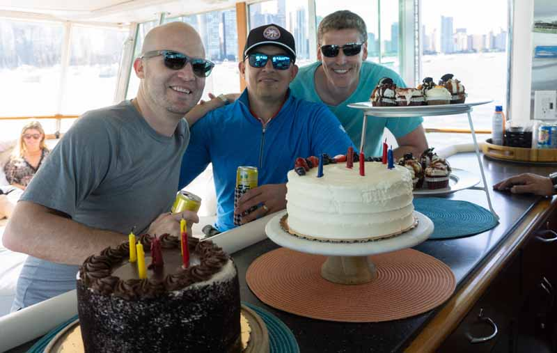 Best private yacht parties and events in Chicago.