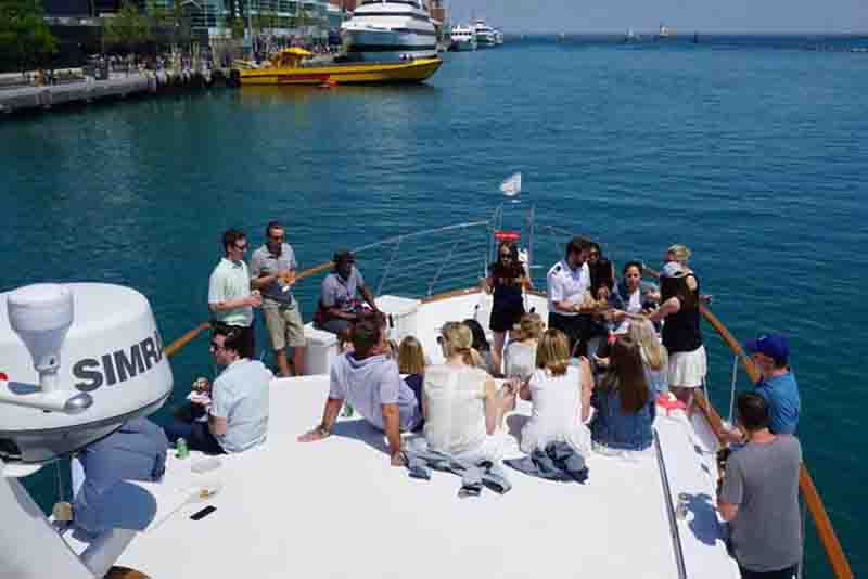 Beyond the ordinary Chicago yacht parties and events