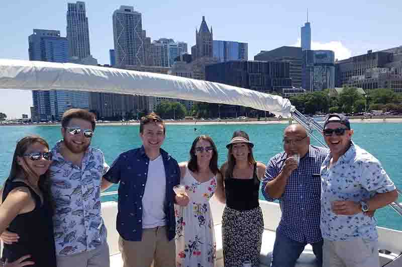 Charter A Boat In Chicago - Call Your Friends - Cruise The Lakefront In Style