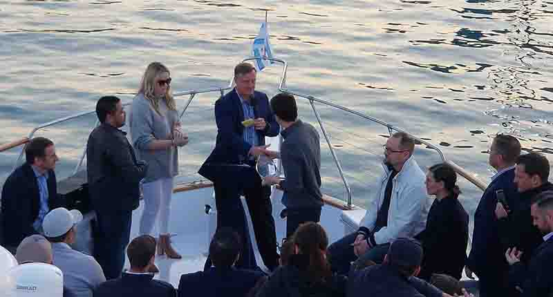 Client Appreciation and Employee Recognition corporate event boat cruise