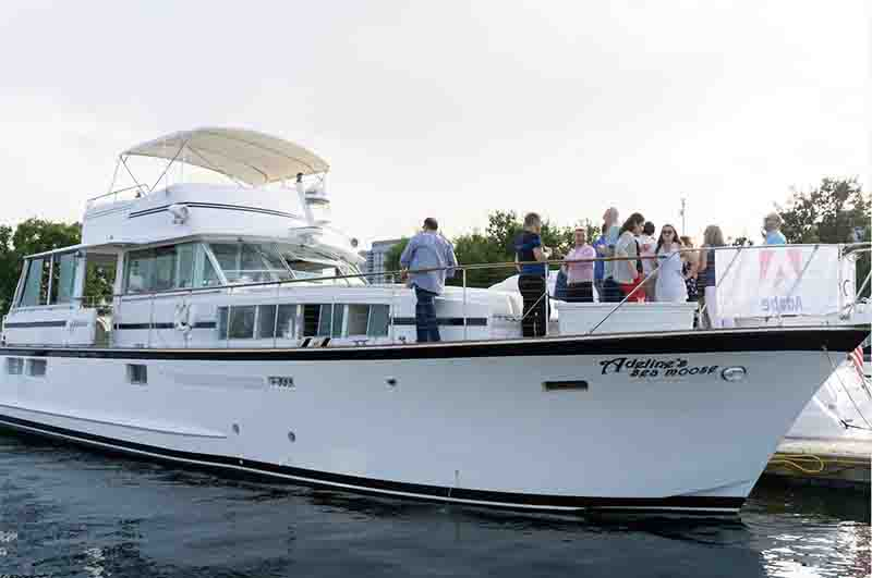 Corporate Event Chicago private yacht rentals