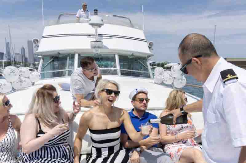 Our Chicago Boat Charters Come With A Captain And Crew