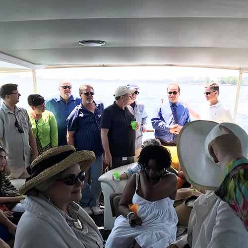 Chicago private yacht rentals charity fundraising and networking charters