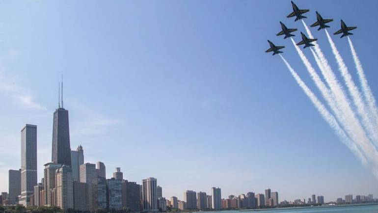 Chicago Air and Water Show 2021