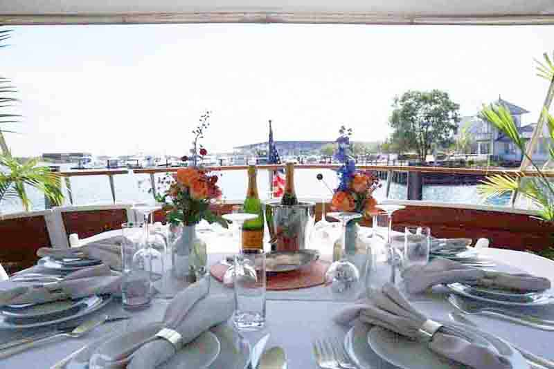 Grant Park Music Festival Concert and Yacht Dining Pairing