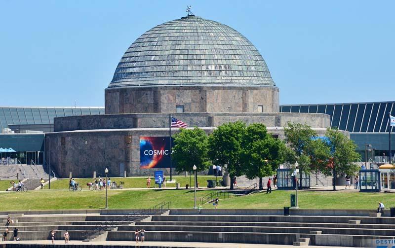 Adler Planetarium Chicago Museum Campus