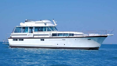 Chicago Private Yacht Rentals  Pristine Blue Floating